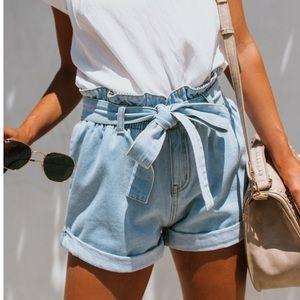 NEW Wishlist high waist denim shorts